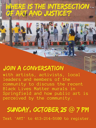 BLM Mural Digital Town Hall Flier 102520