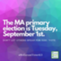 PVP-The MA primary election is Tuesday,