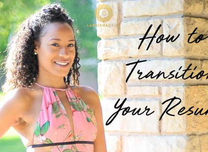 How to Transition Your Accomplishment-Based Resume into a Task-Based Resume
