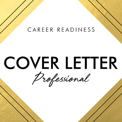 Cover Letter | PROFESSIONAL