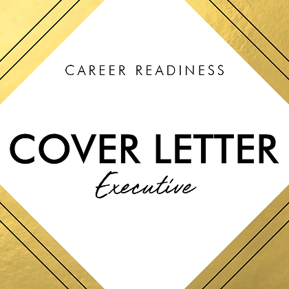 Cover Letter | EXECUTIVE