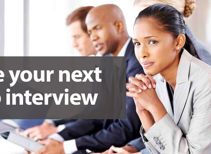 SIMPLE TRICKS TO SCORE A SUCCESSFUL INTERVIEW EVERY TIME
