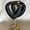 Thumbnail: 'BLACK LOVE' HEART BABMOO EARRINGS