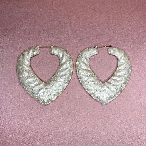'LOVE OF  PEARL' HEART BAMBOOS