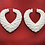 Thumbnail: WINTER WHITE 'SPREAD LOVE' HEART BAMBOOS