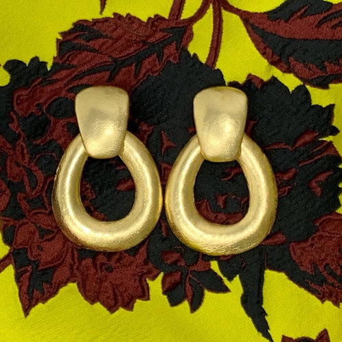 VINTAGE VIBES 'LIQUID GOLD' EARRINGS