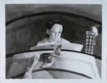 Reflection self-portrait pt. 1