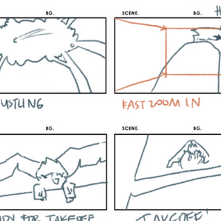 Quetzal's morning storyboard