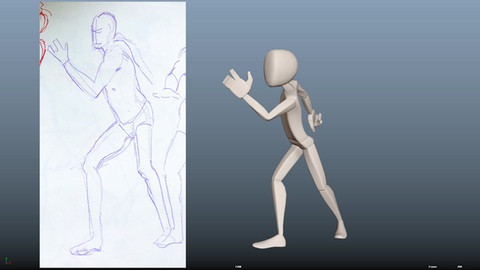 Gesture Drawings and Poses