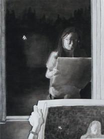 Reflection self-portrait pt. 2