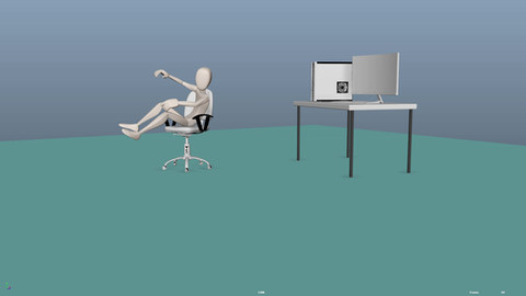 Sit Animation Test