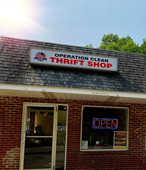 Thift store, Debris removal & cleaning services, Operation Clean  Pittsburgh, PA USA