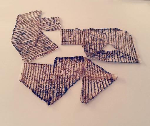 tangram / rusty dye / 2017