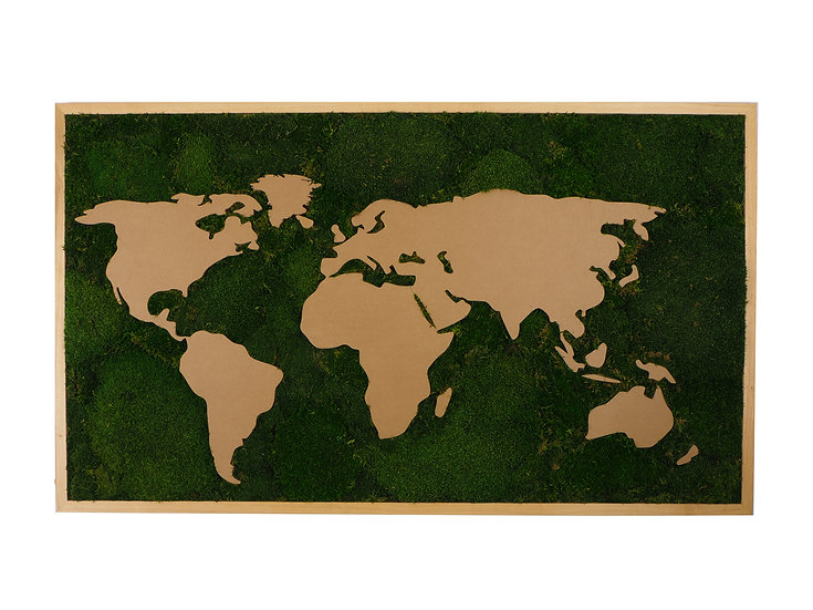 mechovy obraz svet, mapa sveta obraz, mechovy obraz mapa sveta, mechdekor
