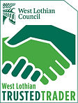 West Lothian council trusted trader - Logo