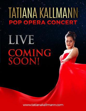 Crossover Soprano Tatiana Kallmann - POP