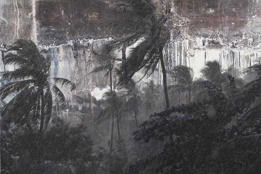 дождь в тропиках