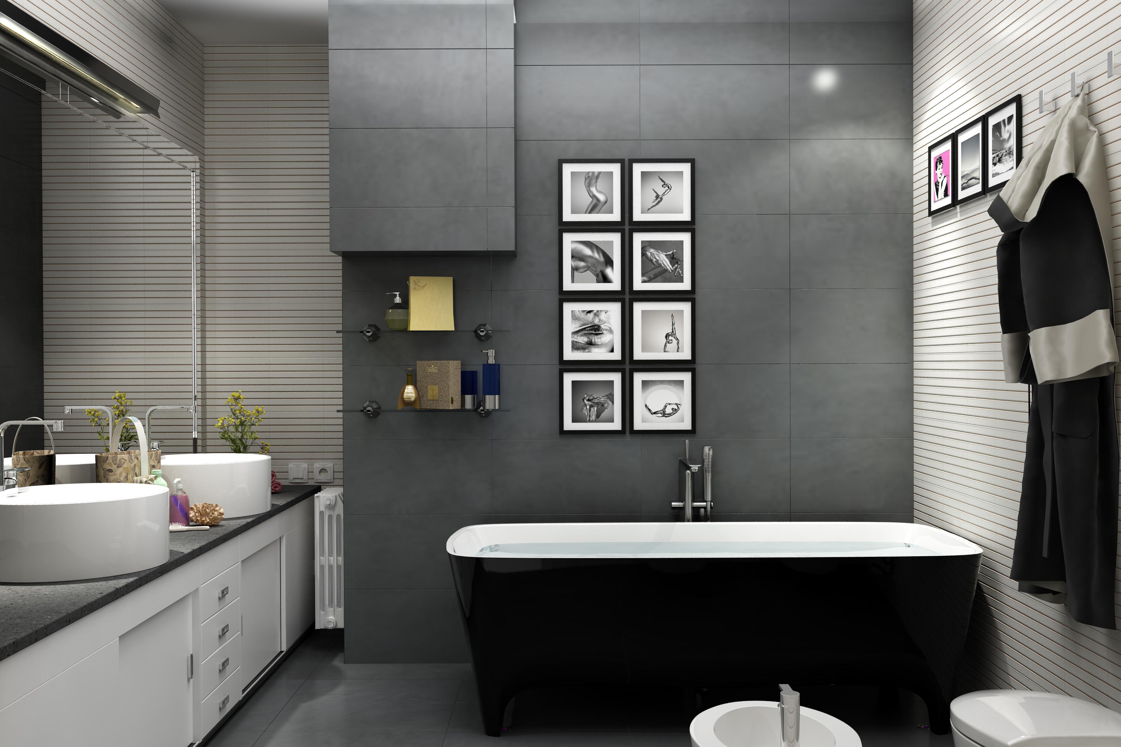 Appartamento privato - bagno