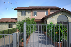 Ampliamento villa privata - Casale M
