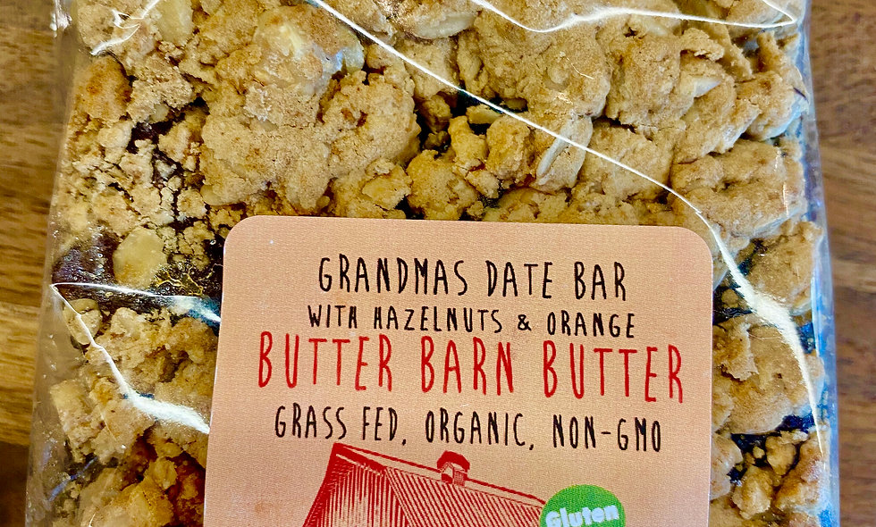 Gluten Free Hazelnut Date Bars