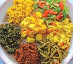 Vegan Ethiopian On Injara