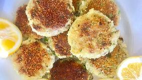 Crab Fennel Cakes