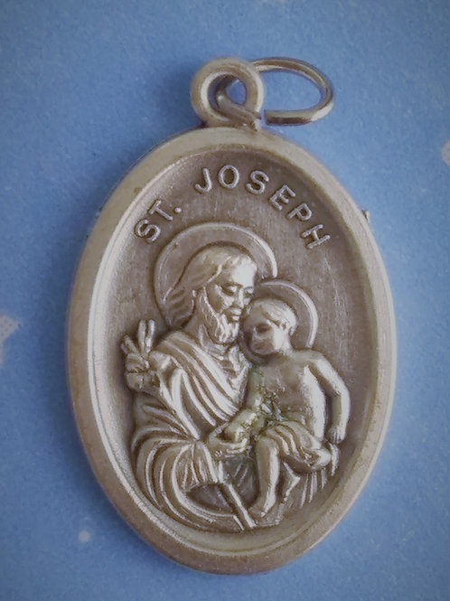 St. Joseph with Infant Jesus Medal
