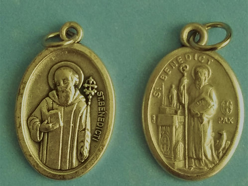 St. Benedict Medal - Oval