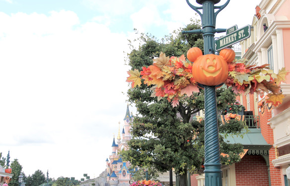 Une balade à Disney pour Halloween