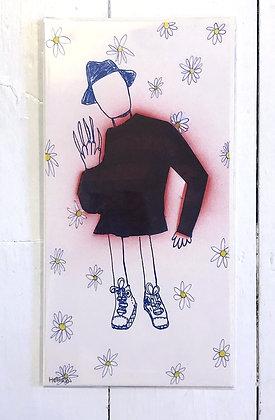 Freddy in Converse (Flower Power)