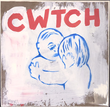 Cwtch (Red and Blue)