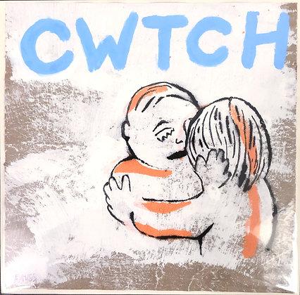 Cwtch (Tiger Stripe Blue)