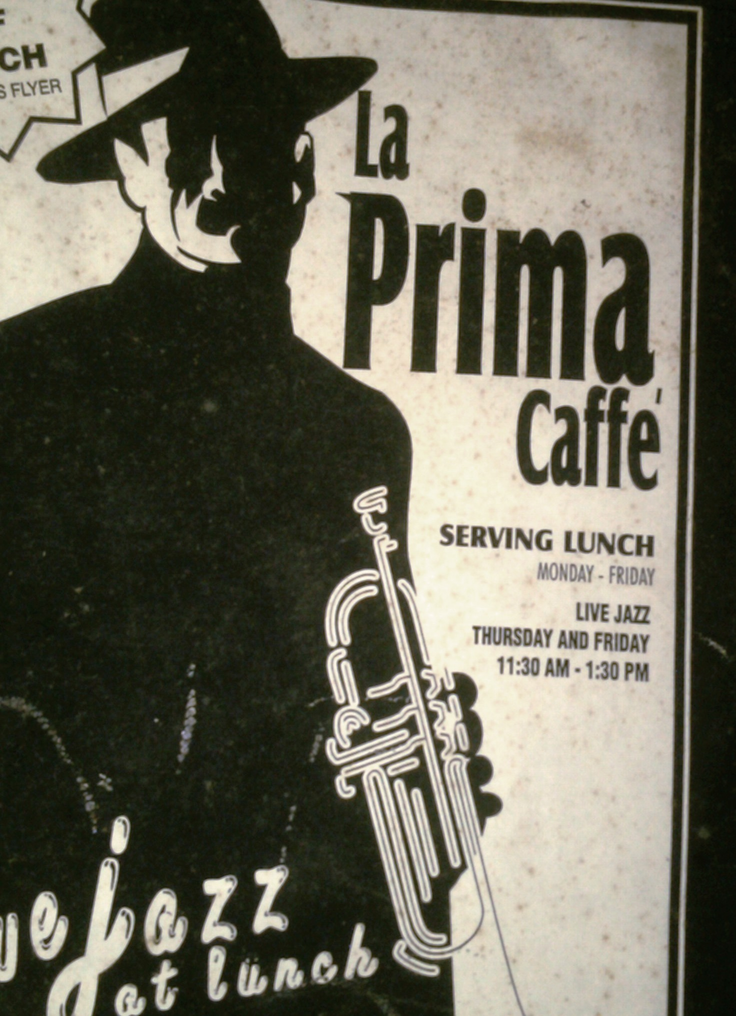 1st flyer -menu 97