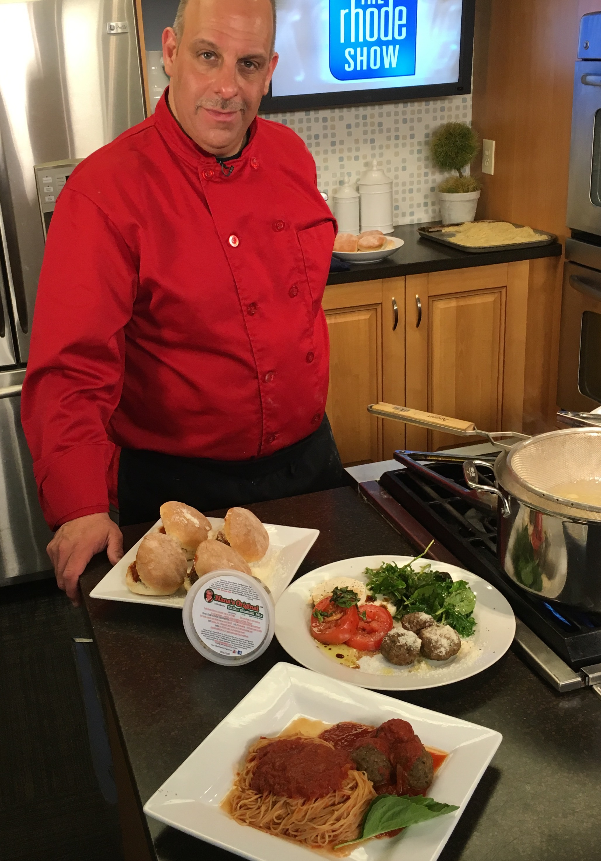 Chef Phil On the Rhode Show