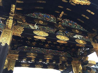 Look up KARAMON of Nijo Castle