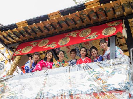 元舞妓さんと巡る祇園祭特別ツアーってこんな感じ!【いざ出発 ツアー概要編】
