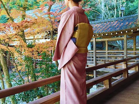 Visiting Eikando Temple in KIMONO