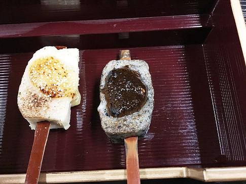 Namafu Dengaku, Gluten Cakes with Sweet Miso Sauce