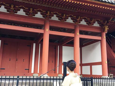 Gate of Myoshinji Temple