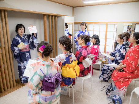 What's Like the GION Festival Tour with a Former Maiko?  -Before the Depature-
