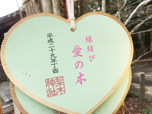 Tree of Love at Nashinoki Jinja Shrine