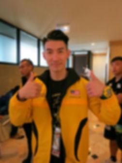 athelete Brandon Law UNIFIT GYM master trainer men physique malaysia internationa