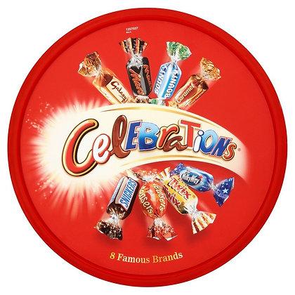 Mars Celebrations Chocolates Tub