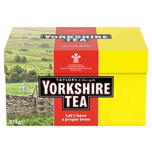 Yorkshire Tea Bags 80 Extra Free 160p