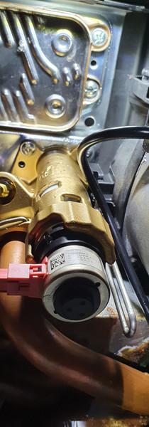 Shiny new diverter valve fitted
