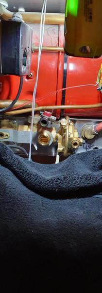 New diverter valve fitted