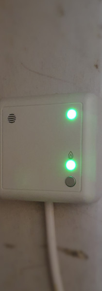 Hive thermostat linked to receiver