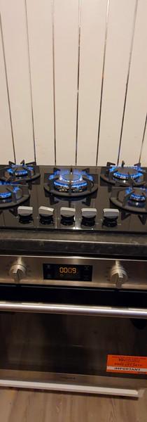 New gas hob install