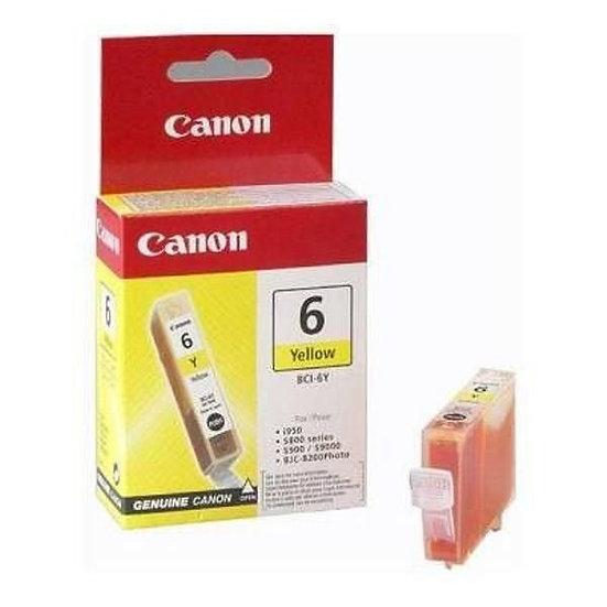 Canon Bci-6 Yellow Cartridge