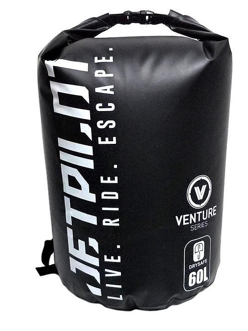 JETPILOT VENTURE 60L DRYSAFE BACKPACK BLACK